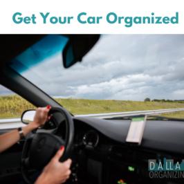 Get Your Car Organized